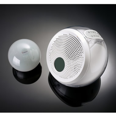 The Clear Sound Wireless Speaker Sphere.