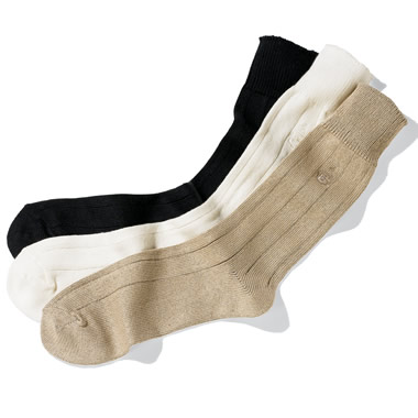 The Classic Sea Island Cotton Socks.