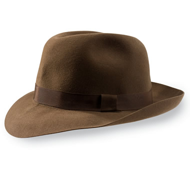 The Christy's of London Foldaway Fedora.