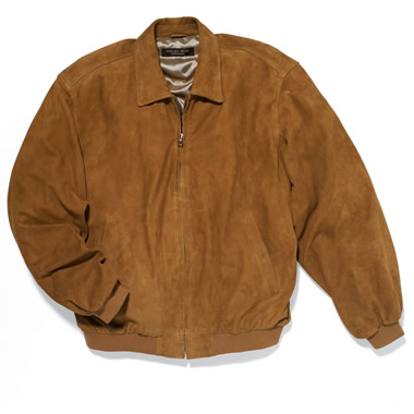 The Butter Soft Goat Suede Jacket.