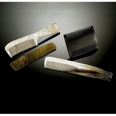 The Double-Toothed Dress Comb.