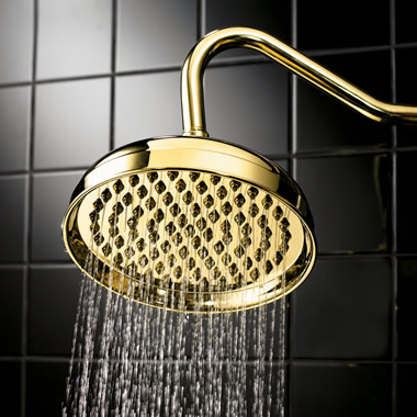 The Consistent Water Stream Rainfall Showerhead.