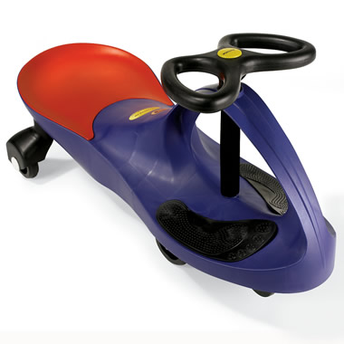 The Centrifugal Force Ride-On Car.