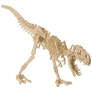The Baltic Birch 3D Dinosaur Puzzles- Tyrannosaurus Rex.