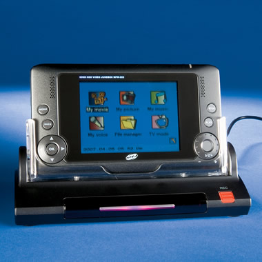 The 60-GB Video and Audio Jukebox.