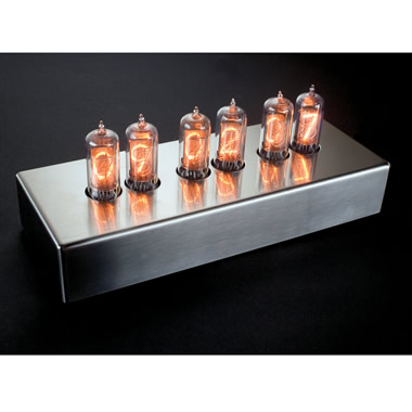 The Authentic 1950s Nixie Tube Clock.