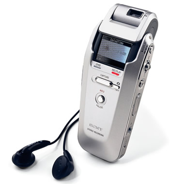 The Digital Camera Voice Recorder.