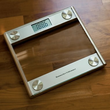 The Accurate Easy-to-Read Digital Scale.