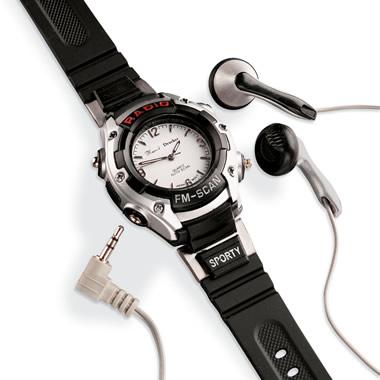 The FM Radio Watch.