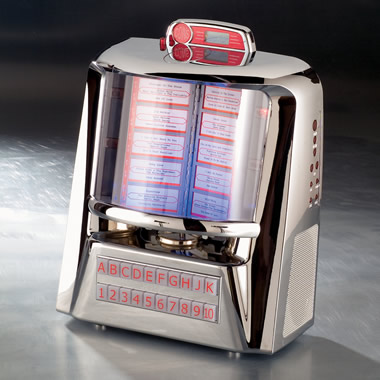 The Classic Diner CD Jukebox.