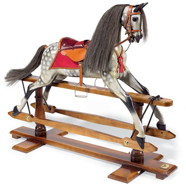 The Classic English Rocking Horse.