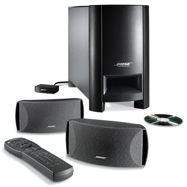 The Bose Digital Home Theater Speaker System.