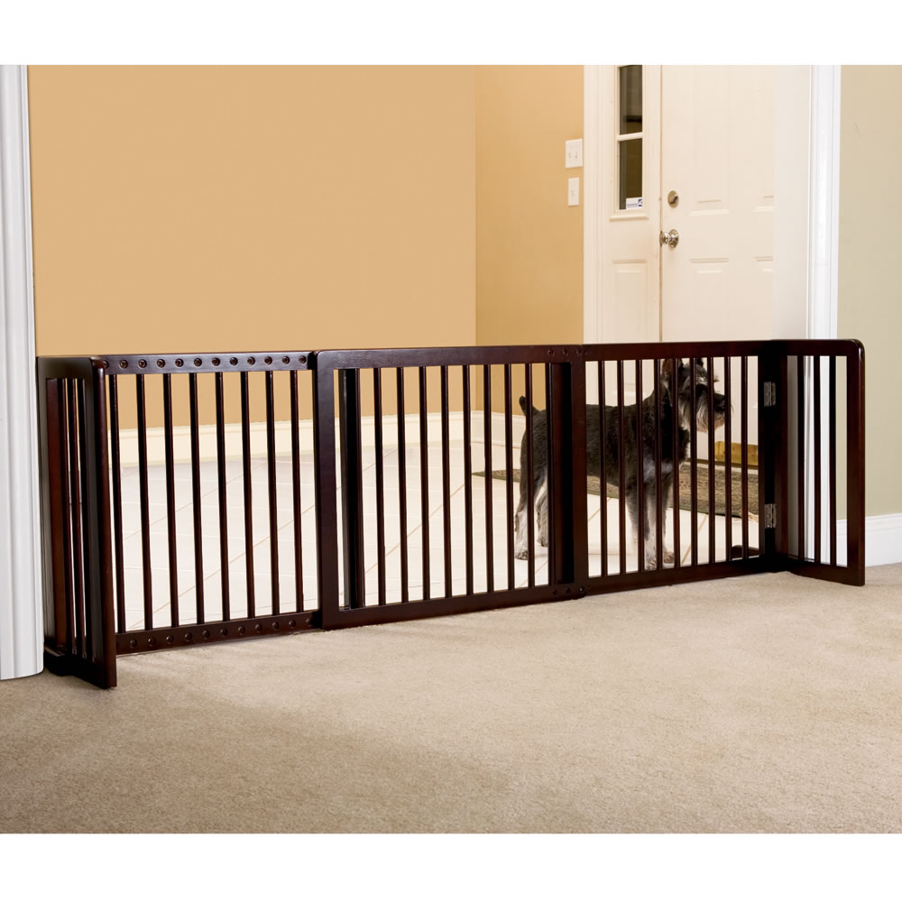 Christmas Tree Gates For Dogs: The Extra Wide Free Standing Pet Gate