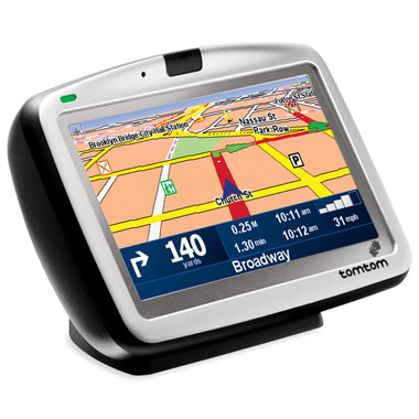 The 25 Country Portable GPS Navigation System.