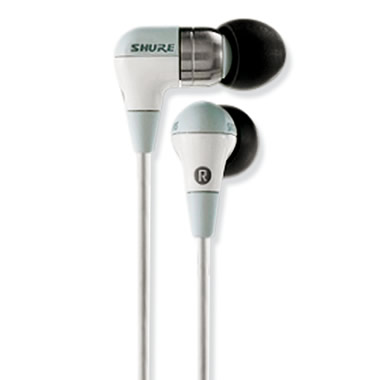The Audiophiles Sound-IsolatingTM Earphones.