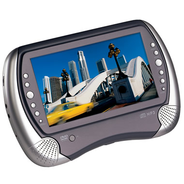 The Rugged 7 Inch DVD Player