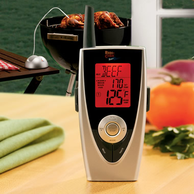 The Chef's Remote Thermometer Monitor.