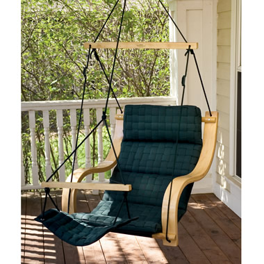 The Balance Point Basketweave Outdoor Lounger.