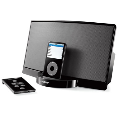 The Bose SoundDock Digital Music System for iPod.