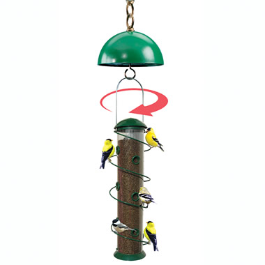 The Automatic Squirrel-Ejecting Bird Feeder.