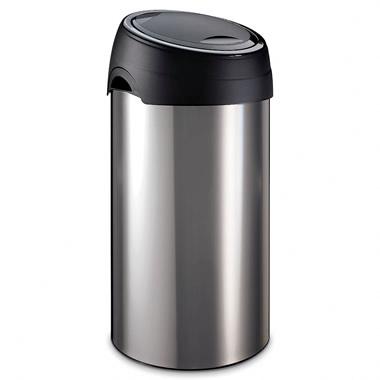 The Easiest Disposal Stainless Steel Trash Bin.
