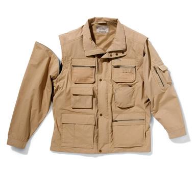 The 18-Pocket Correspondent's Jacket.