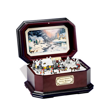 The Thomas Kinkade Music Box.