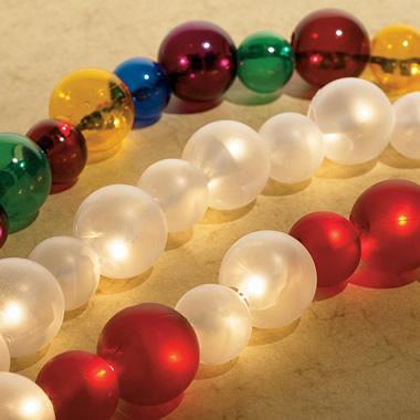 The 6-Foot Illuminated Spheres Light Strand.