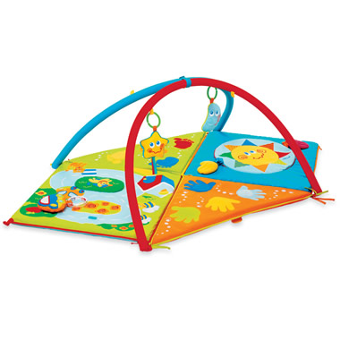 The Configurable Infant-To-Toddler Mat.