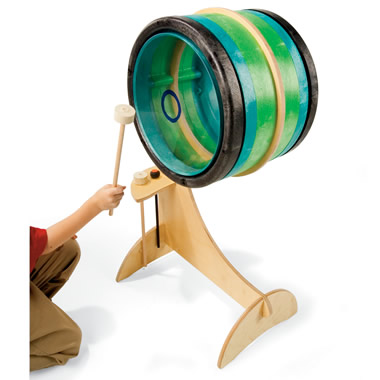 The Child's Tunable Bass Drum.