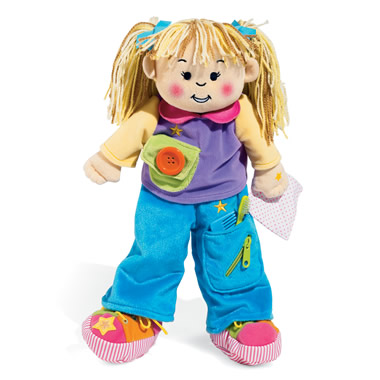 The Award-Winning 18-Inch Skill Teaching Doll.