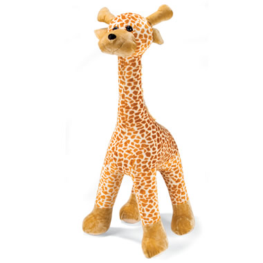 The 5-Foot Inflatable Plush Giraffe.