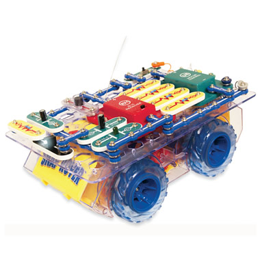 The Design-Your-Own-Circuit Remote-Controlled Car.