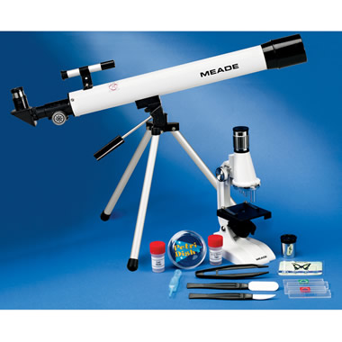 The Complete Telescope, Microscope, and Laboratory Kit.