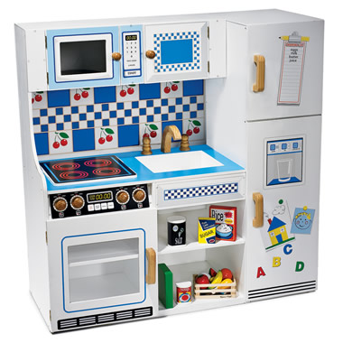 The Complete Wooden Play Kitchen.