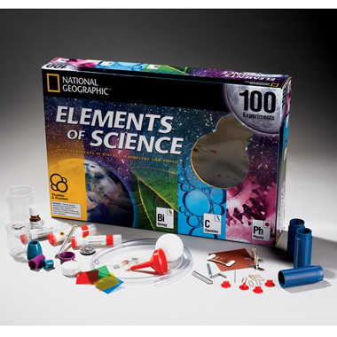 The 100 Experiment Science Education Kit.