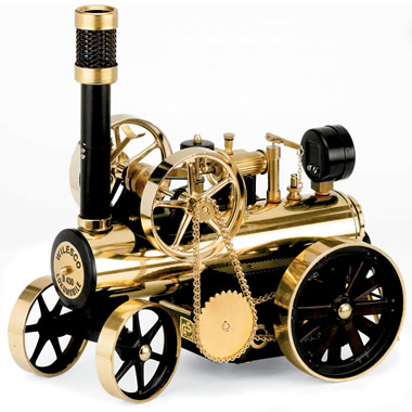The Classic Working Steam Engine Locomobile.