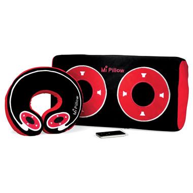 The iPod Speaker Pillow Neck.