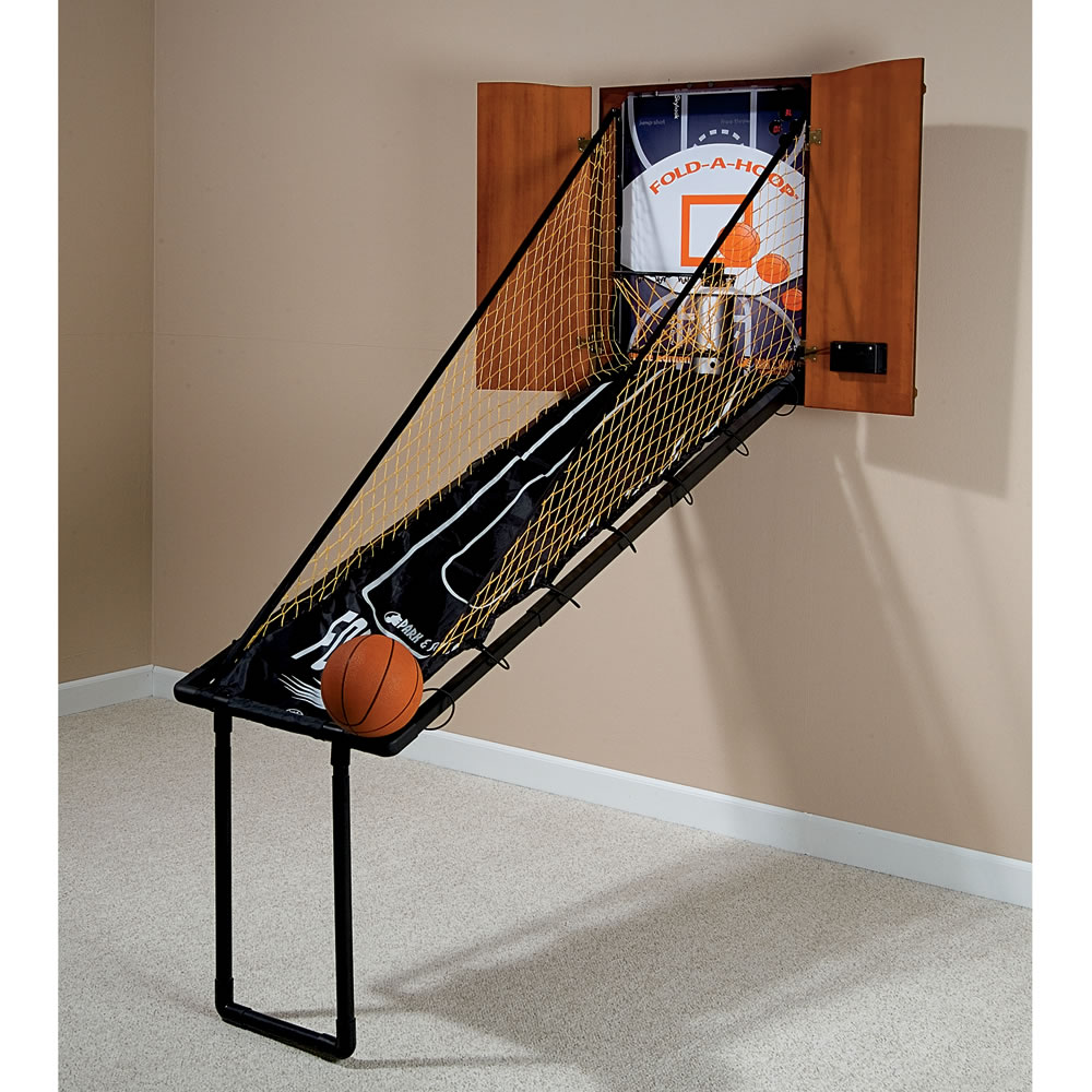 Wall Mount Fold Out Basketball Free Sollebit