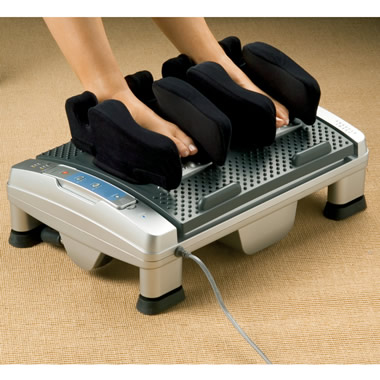 The Complete Foot Massager.