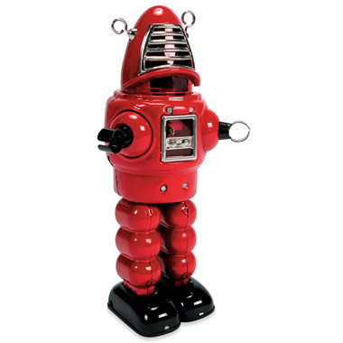 The Classic Wind-Up Robot.