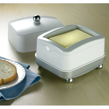The Cordless Temperature-Controlled Butter Dish.