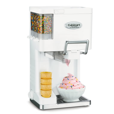 The Automatic Soft Serve Ice Cream Maker.