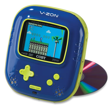 The 12-Video Game And DVD System.