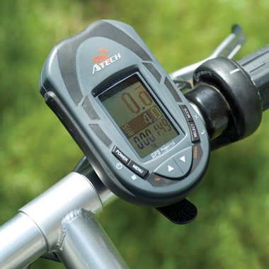 The Bicycle Detachable GPS.