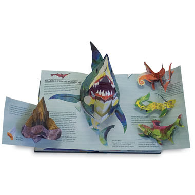 The Award-Winning Sabuda And Reinhart Pop-Up Books Sharks and Other Sea Monsters.