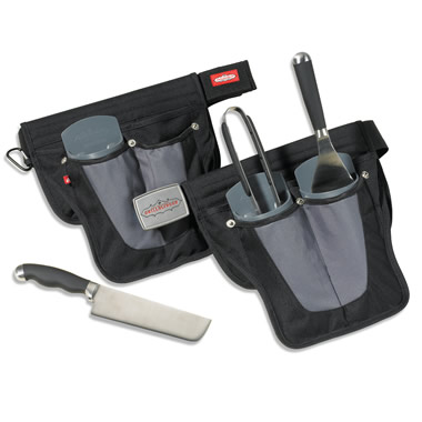 The Complete Grilling Tool Belt.