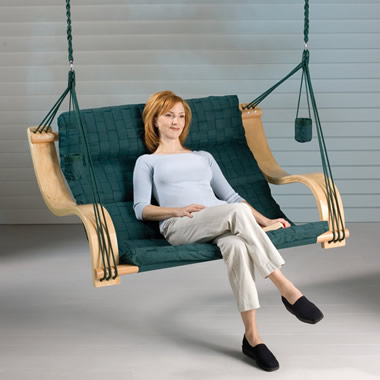 The Double Basketweave Chair Lounger.