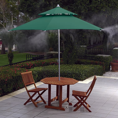 The Cool Mist Umbrella.