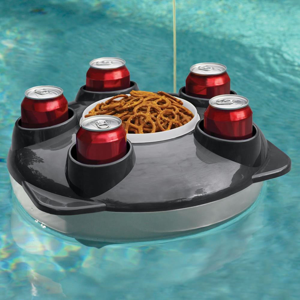 The Remote Controlled Floating Serving Tray - Hammacher Schlemmer